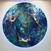 Danza Celestial, Colección: Universo infinito.