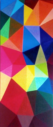 Tesel·les - colors, triangles, geometria, línies, vitalidad.