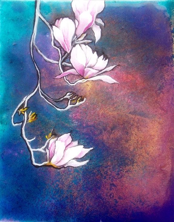 Magnolia, Parfum d'éternité.. Isabelle Le Pors Isabelle Le Pors