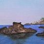 Vue sur lotissement «le Troc Pinell» à Banyuls sur mer. Mimi
