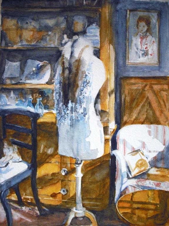 Chez l'antiquaire. Althéia - Martine Vinsot Althéia - Martine Vinsot