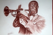 Louis Armstrong.