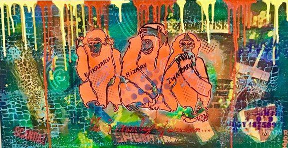 Les 3 singes. Suzie Rodz Suzie Rodz