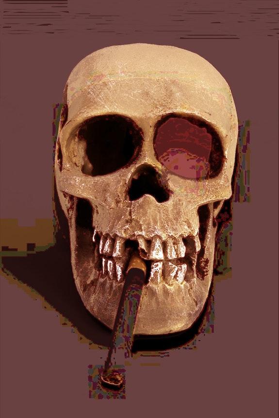 Señor chocolate con cigarro. Jon Fennel Jon Fennel