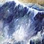 L'infini des vagues. Anne Huet Baron