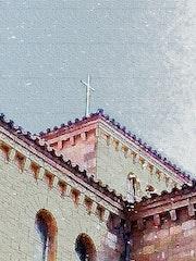 La cruz en lo alto. Jon Fennel