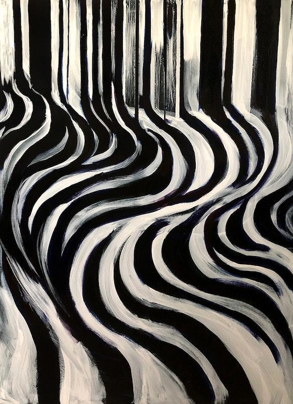 Evolution of stripes. Lynda Mason Mason