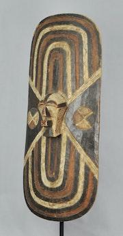 Grand bouclier songye - Galerie d Art Tribal Africain. Galerie De La Louve Arts Premiers