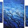 Modern triptych : Fresh wind.. Jonathan Pradillon