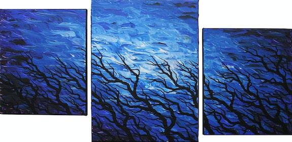 Modernes Triptychon : Frischer Wind.. Jonathan Pradillon Jonathan Pradillon