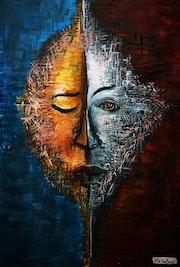 Ange et Démon (Complémentarité de la dualité). Heryzo Ralaindimby