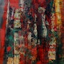 Abstract graffiti. Jacques Donneaud