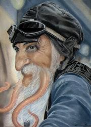 Portrait fantastique : poulpe fiction.