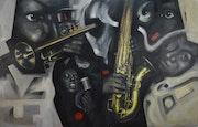 Jazz, negro, balco y oro. Taudi