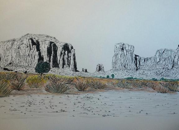 Monument valley. Yves Briais Yves Briais
