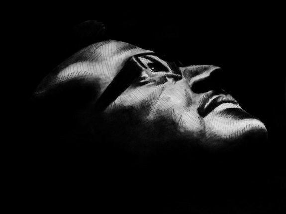 L'homme dans l'obscurité.  Yem- Jackson
