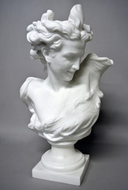 Buste du «Génie de la Danse». Marc Menzoyan Antiquités