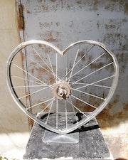 Cœur de cycliste.