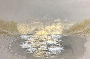 Winter Light on Ice Lake. Sash Carti Emmanuelle Somerset-Beauverie