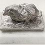Poussin, acier inoxidable. Barake Sculptor