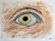L'oeil. Artpascalguillois