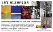 My Art Business Card. Sash Carti Emmanuelle Somerset-Beauverie