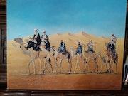 La Caravane de Bédouins..