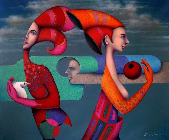Siluetas femeninas. Jose Luis De La Barra Delabarragallery