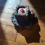 Lady Iris McFleshy of Oxfordshire, disembodied eye in cast iron. Jenna Metalsome