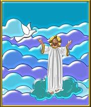 Suplica de Jesús al Padre Todopoderoso. Creaciones Jean