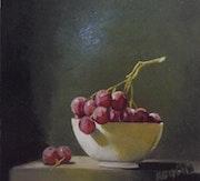 Uvas en una taza. Agustin Bejarano Rodriguez