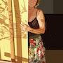 2019-07-23 Michèle (ombres et lumière). Michel Normand