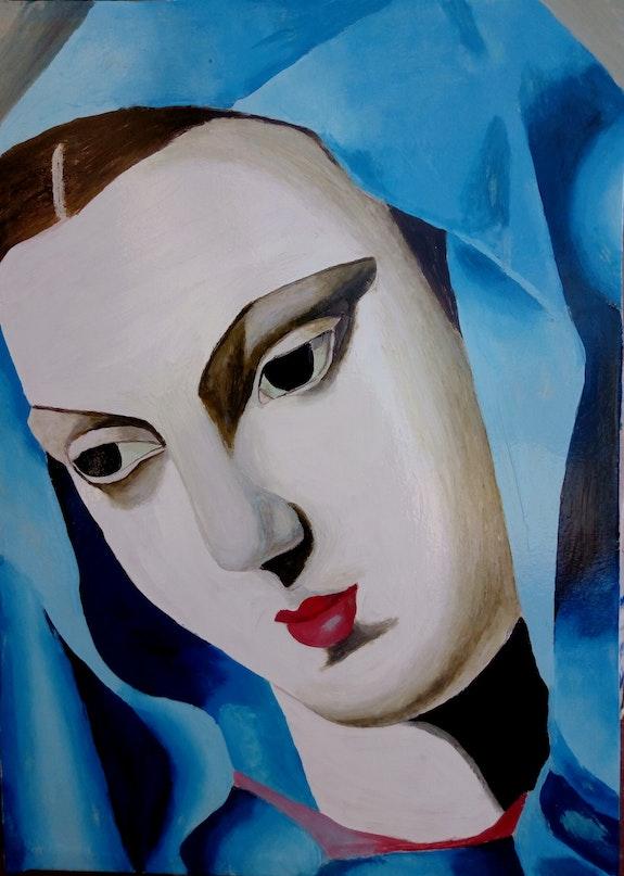 The blue virgin. Sellam Salim Azarou Salim Azarou