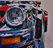 Porsche, d'après une photo de Julien Motron.