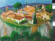 Petit village du vaucluse. Juliana Puixsegur
