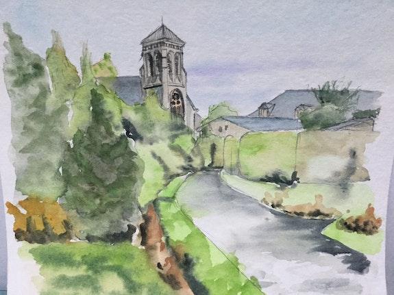 Église de Trégon. Alain Croset Le Trembladais Alain Croset