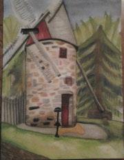 Le Moulin à vent de Pointe-aux-Trembles (Montréal-Est).