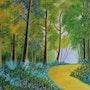 Chemin forestier (Sillé).