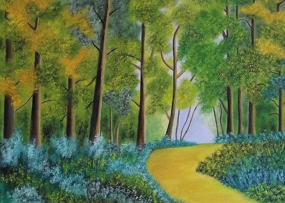 Chemin forestier (Sillé). Gérard Flohic Gerard Flohic