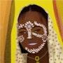 Tenue traditionnelle Malgache. Steeland (Autodidacte)