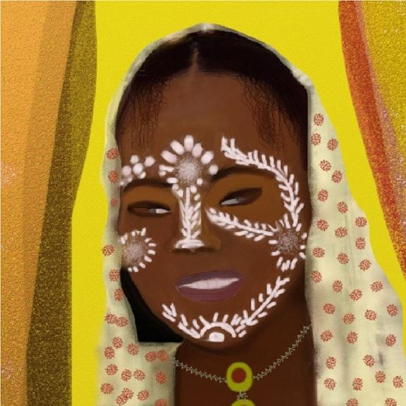 Tenue traditionnelle Malgache. D. Steeland Steeland (Autodidacte)