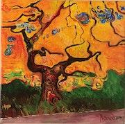 «Le vieil arbre v», 2019.