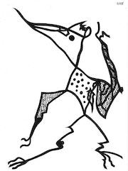 Oiseau antédiluvien 1029.. Dominique Cauvé