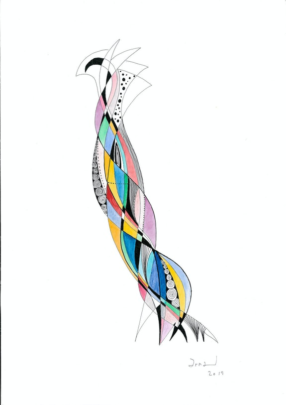 L'Oiseau Très Distingué. Arnaud Arnaud