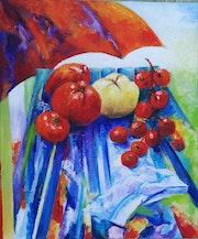 Tomates d'été. Françoise Parmentier