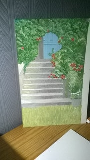 L'escalier aux bignons.