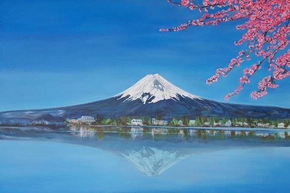 Peintures Mont Fuji Page 1942 Oeuvres D Artistes