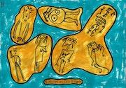 Nudistes au Cap d'Agde 4180.. Dominique Cauvé