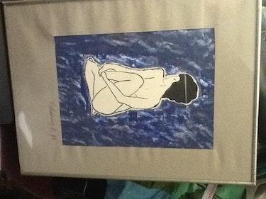 Femme nue. Gregoire De Couespel