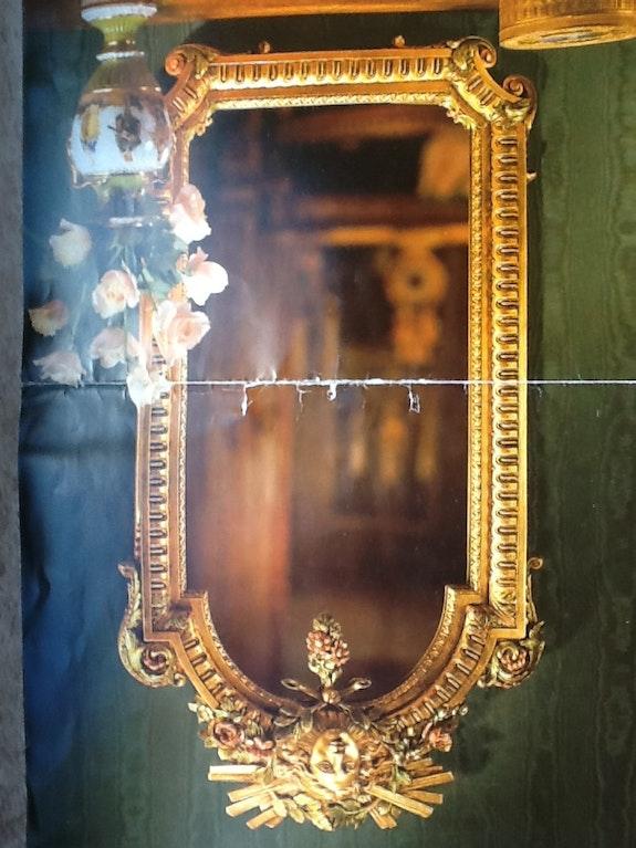 Miroir Louis XIX. Farenili Gregoire De Couespel
